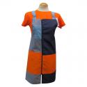 Pichis Doble Carro Naranja y Azul para Maestra