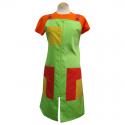 Pichis Doble Carro Naranja, Amarillo y Verde  para Maestra