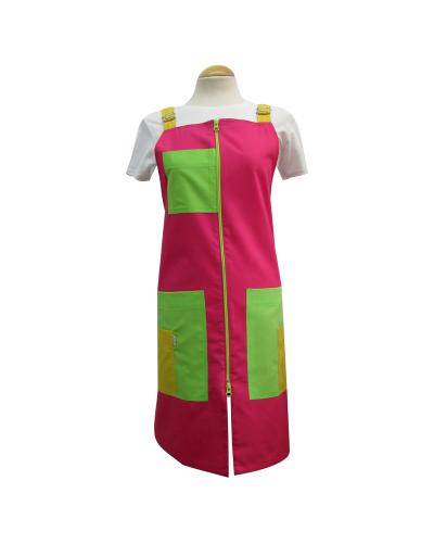 Pichis doble carro rosas verdes y amarillos para maestras