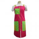 Pichis Doble Carro Rosa, Verde y Amarillo para Maestra