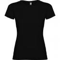 Camiseta Negra para Niñas 100% Algodón