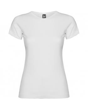 Camisetas Jamaica Blancas para Niñas