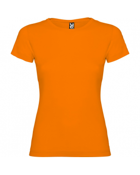 Camisetas Jamaica Naranjas para Mujeres