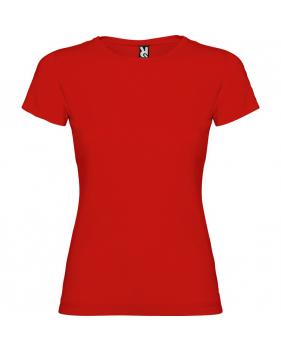 Camisetas Jamaica Rojas para Mujeres