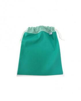 Bolsas de merienda verdes niño y niña
