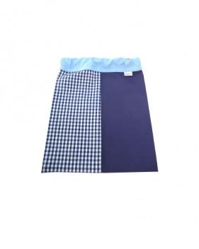 Bolsas de merienda azules y azules oscuras niño y niña